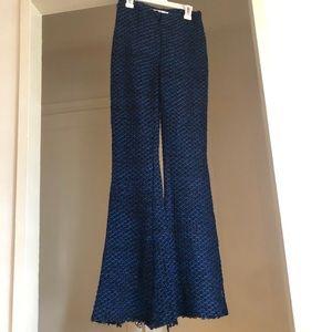 Nicholas knit stretch flare pants